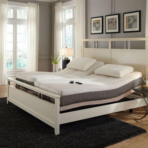 sleep science 9 quot split king mattress with adjustable base storage adjustable