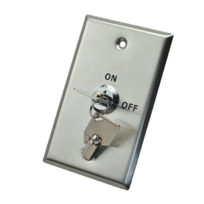 security light switch key touch exit button x2 security