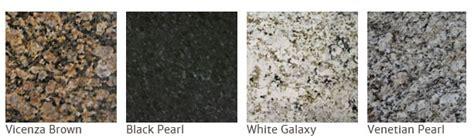 common granite colors most popular granite countertop colors