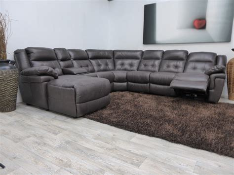 leather sectional with recliner and sleeper lazy boy l shaped sofa small sectional sofa with recliner