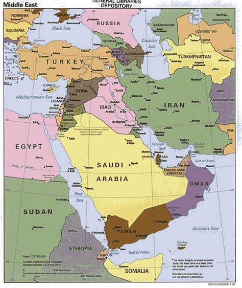 middle east map landforms middle east geography maps of the middle east this