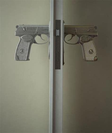 gun door handle unique and design for door knobs with gun handle