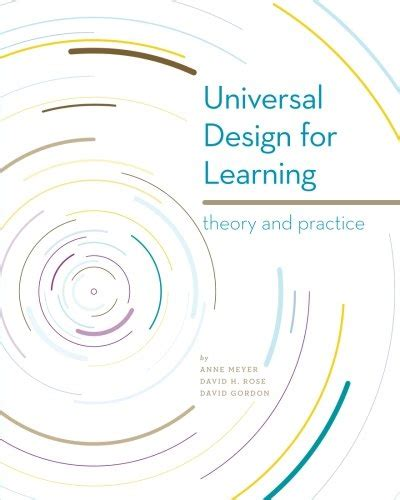 layout of theory test universal design for learning theory and practice