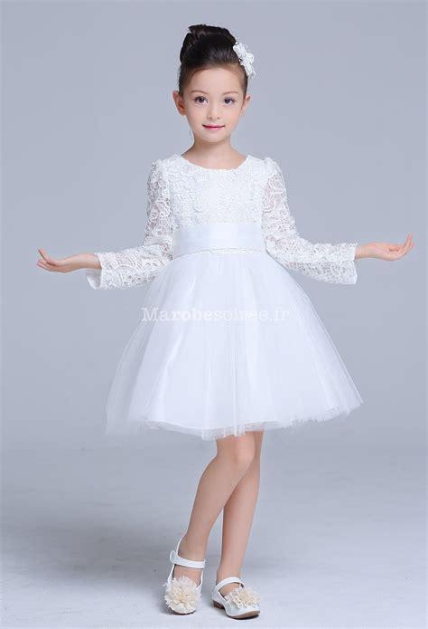 Robe Dentelle Fille 2 Ans - robe blanche b 233 b 233 fille pour bapt 234 me