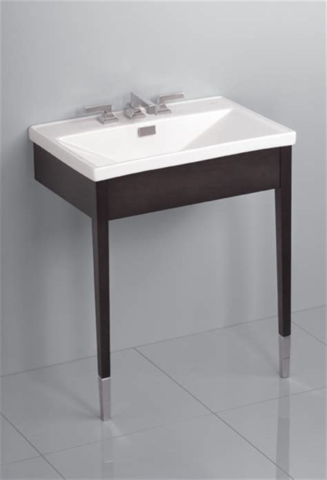 Toto Bathroom Vanities Toto Lloyd Wood Console Lavatory Modern Bathroom Vanities And Sink Consoles Dallas By