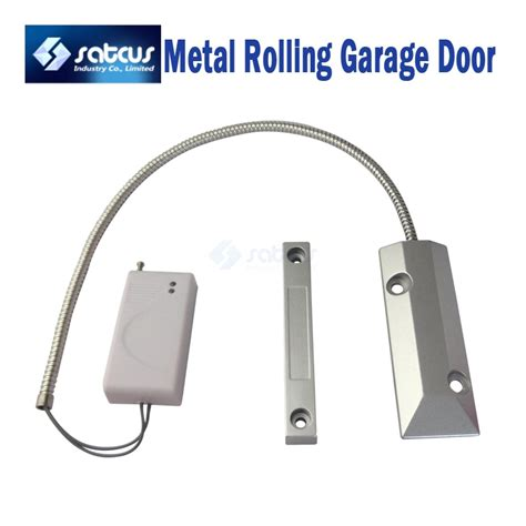 Wireless Door Magnetic Contact wireless metal rolling garage door magnetic contact sensors detectors home alarms