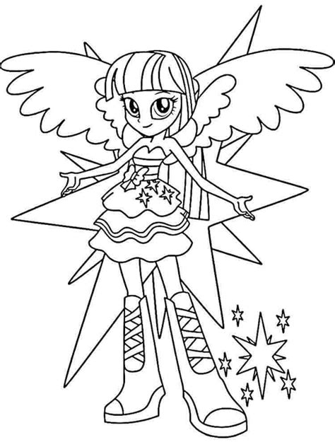 My Little Pony Equestria Girls Coloring Pages My Pony Equestria Coloring Pages Twilight Sparkle