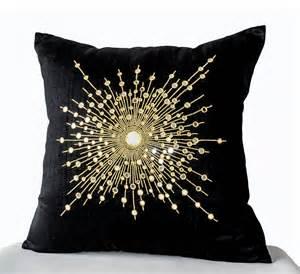 decorative throw pillow cover premium beaded pillow