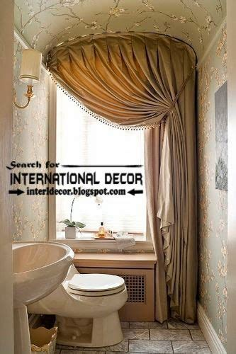 Modern Bathroom Window Curtains by 1000 Ideas About Bathroom Window Coverings On