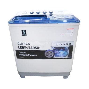 Mesin Cuci 2 Tabung Daimitsu jual samsung wt85h3210mb mesin cuci 2 tabung biru hanya