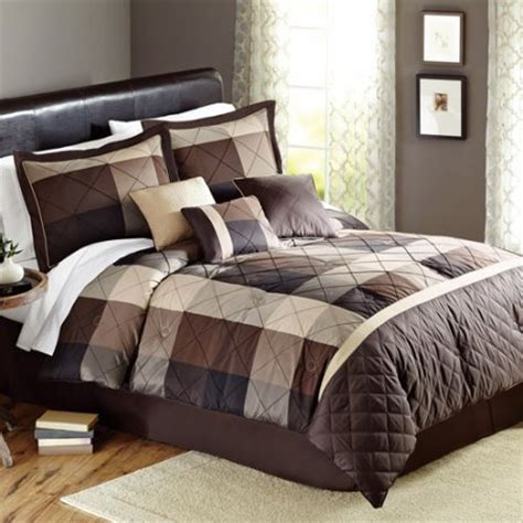 better homes and gardens 7 comforter set better homes and gardens elliot plaid 7 bedding