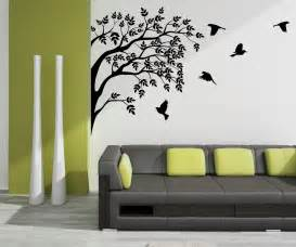 wall decoration at its best daisy flower wall stickers for corner design