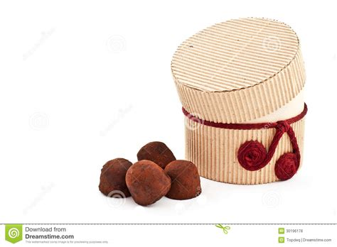 Handmade Truffles - handmade truffles royalty free stock photos image 30196178