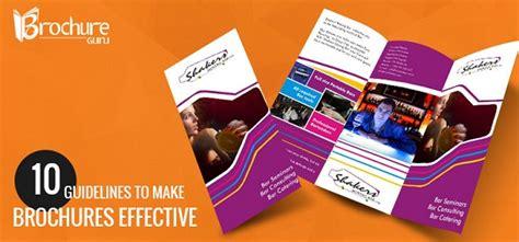 leaflet design rules brochureguru