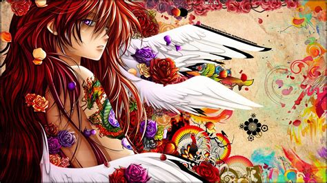 cartoon tattoo girl wallpaper all anime wallpapers wallpaper cave