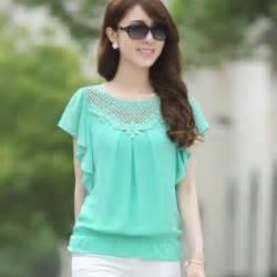 sumber gambar kerajinantangantop blogspot com 4 model atasan sifon cantik untuk kamu yang fashionable di