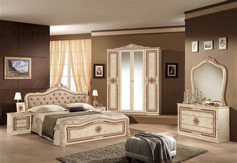italian bedroom suite lisa beige classic italian bedroom set and suite em italia