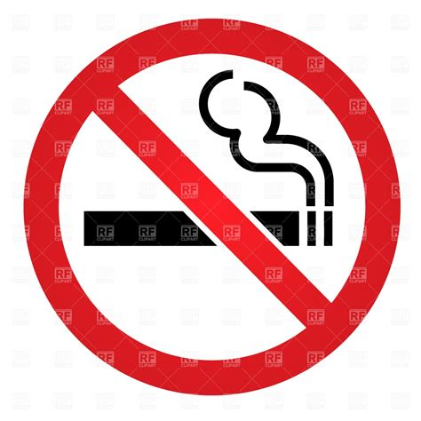 no smoking sign free vector generic no smoking sign royalty free vector clip art image