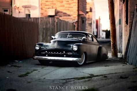Cool Garages Stance Works 1950 S Chopped Chevy Custom