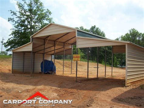 carport styles barn style metal carport the carport company