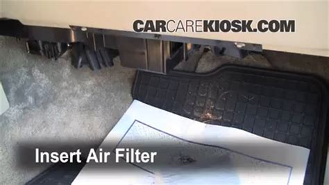 2011 Tahoe Cabin Air Filter by 2000 2006 Gmc Yukon Xl 2500 Cabin Air Filter Check 2002