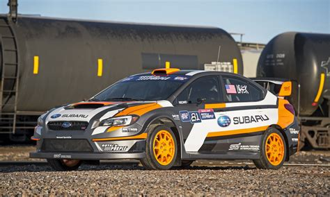 wrc subaru 2015 vt15x is subaru s new rallycross fighter and it debuts in ny
