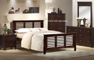 Full Size Bedroom Furniture Full Size Bedroom Set Espresso Sold By Visiondecor