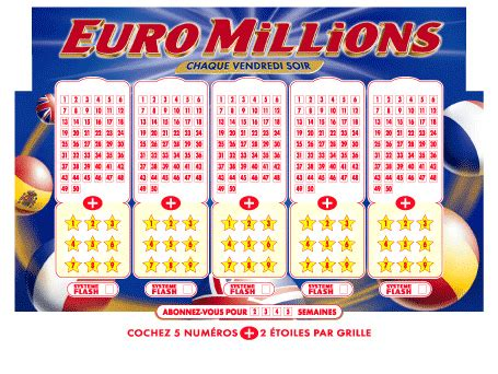 Euromillion Grille by Loto Euromillion