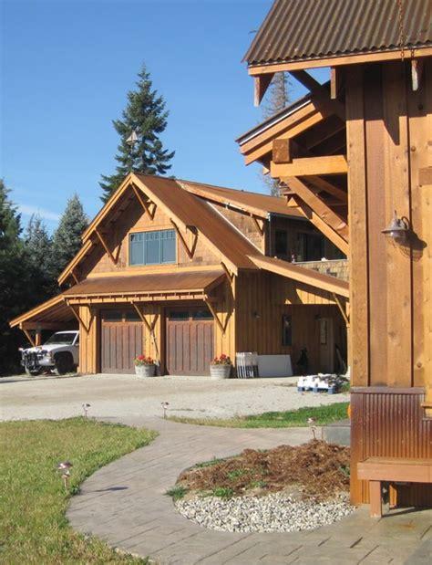 mountain craftsman bungalow rustic garage seattle