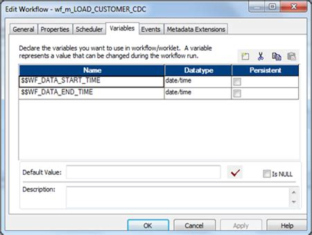 workflow variables in informatica 11 ways to make informatica powercenter code reusable