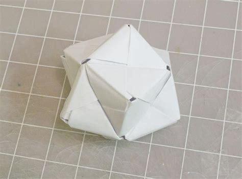 Modular Origami Octahedron - modular origami how to make a cube octahedron
