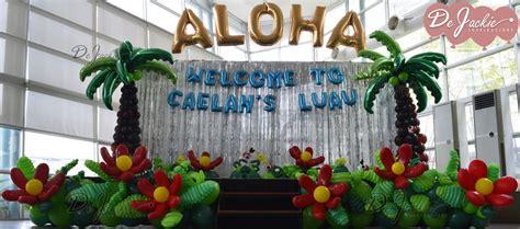 Hawaiian Decorations by Balloon Decorations For Weddings Birthday