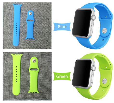 Apple Band Silicone Material Leopard For 38mm 42mm 3 20 27day Delivery 25 Colors 42mm 38mm Silicone Sport