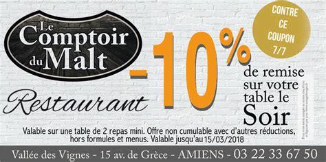 Le Comptoir Du Malt Amiens by Proxi Bon Plan Le Comptoir Du Malt 224 Amiens R 233 Ductions