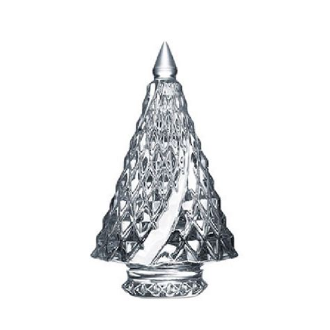 baccarat crystal christmas trees diamant fir