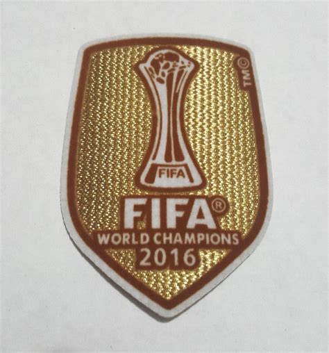 Patch Fifa 2016 For Madrid 2016 ucl uefa fifa world chions league badge patch real