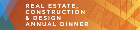 design banner annual dinner real estate construction and design annual dinner