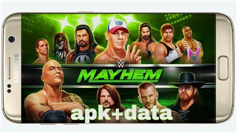 download game android mayhem mod apk how we download mod apk of wwe mayhem game on android