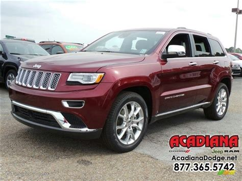 jeep grand cherokee brown 2016 velvet red pearl jeep grand cherokee summit