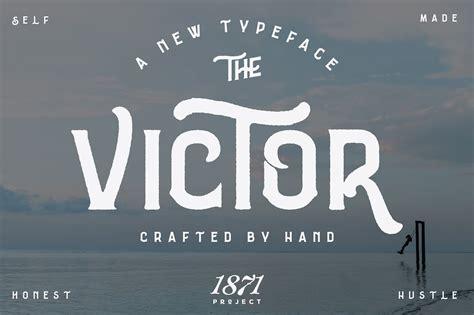 victor font family befontscom