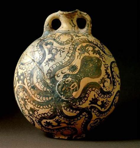 Octopus Vase Minoan by Til That Most Ancient Languages Had No Word For Quot Blue Quot And We Re Not Certain They Even Thought