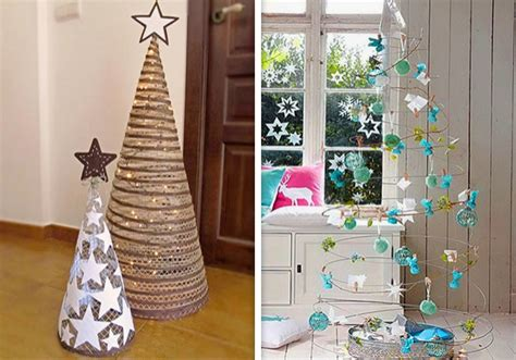 10 ideas originales para un 225 rbol de navidad hecho en casa