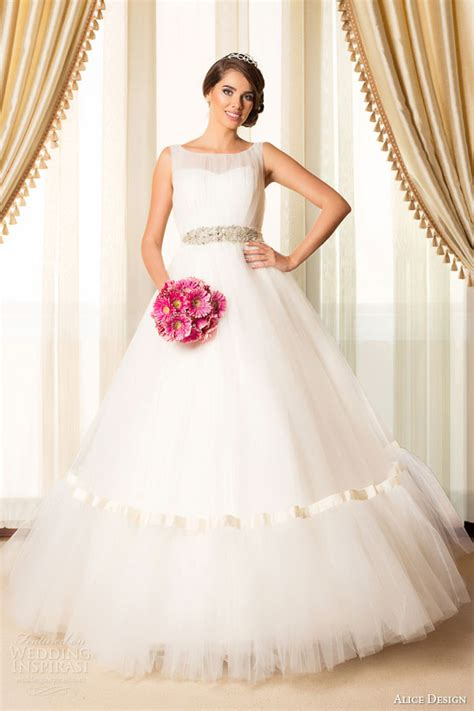 alice design 2015 wedding dresses bridal