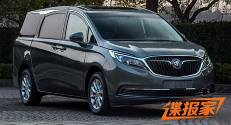 buick minivans this new buick gl8 minivan is for china only
