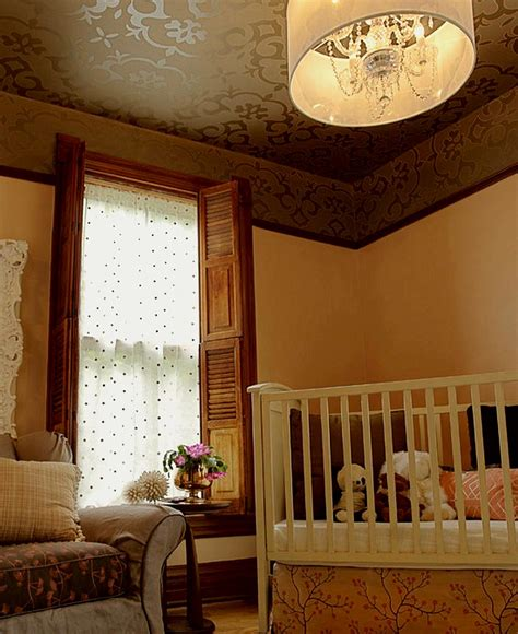 Nursery Ceiling Decor Decorating Ideas For The Ceiling How To Build A House