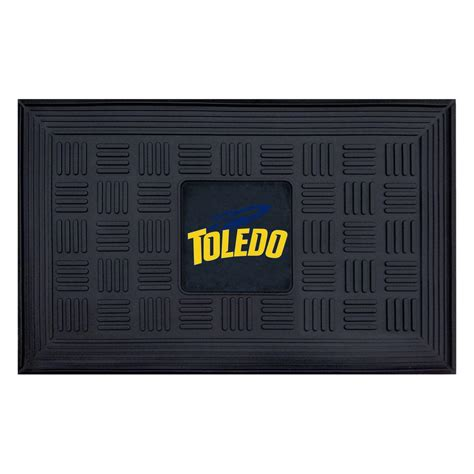 fanmats ncaa of toledo 18 in x 30 in vinyl