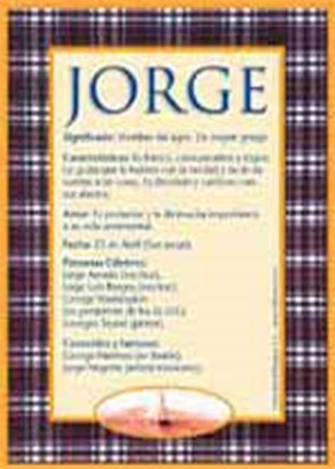 imagenes de halloween con nombre de jorge jorge significado del nombre jorge nombres