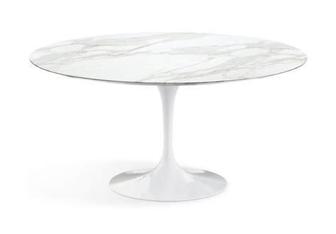 tavoli saarinen saarinen tavolo rotondo in marmo knoll milia shop