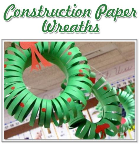 the activity mom christmas wreath craft