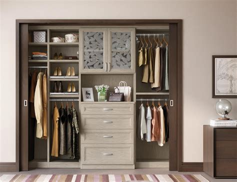 Reach In Closet Doors Reach In Closets Designs Ideas By California Closets
